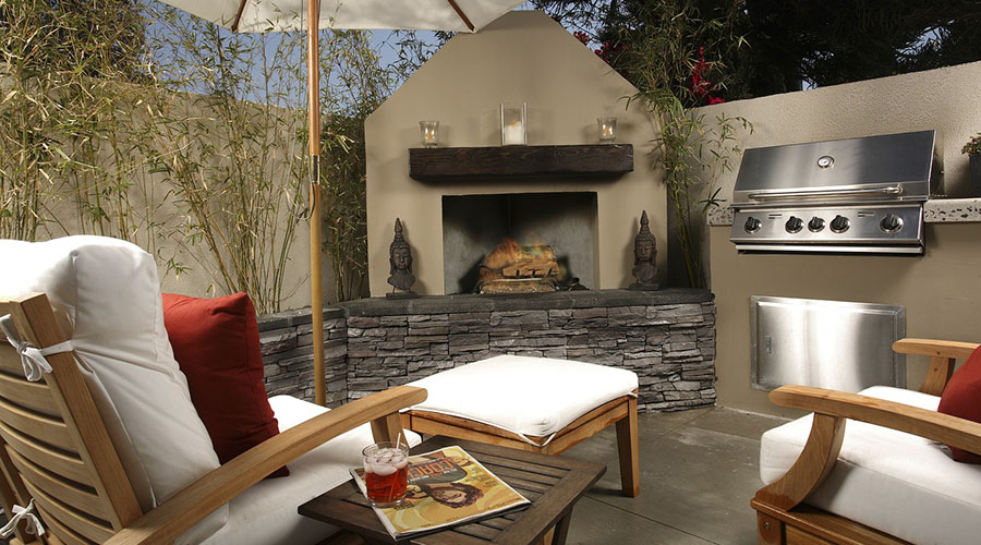 Cool Outdoor Living Spaces