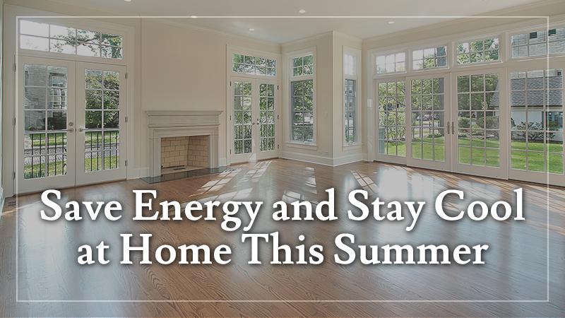 Save Energy at Home in Summer