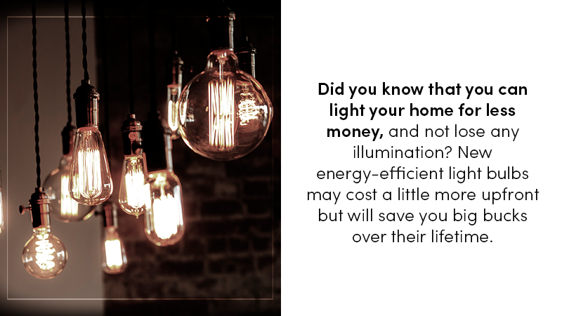 Energy efficient residential lighting