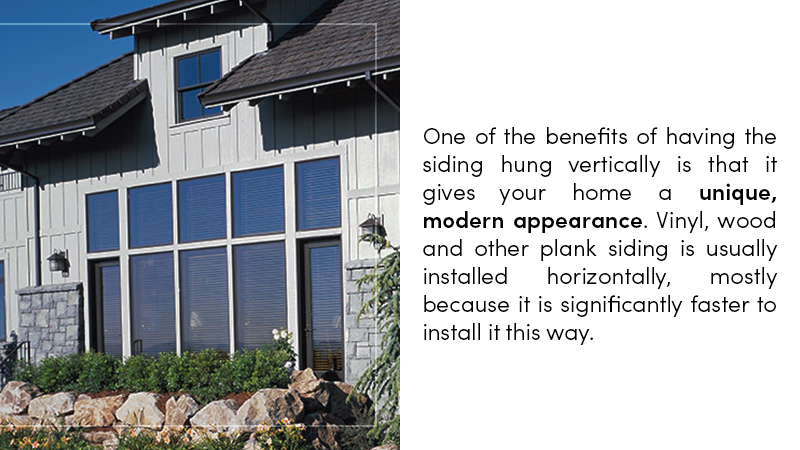 Benefits of Vertical Siding