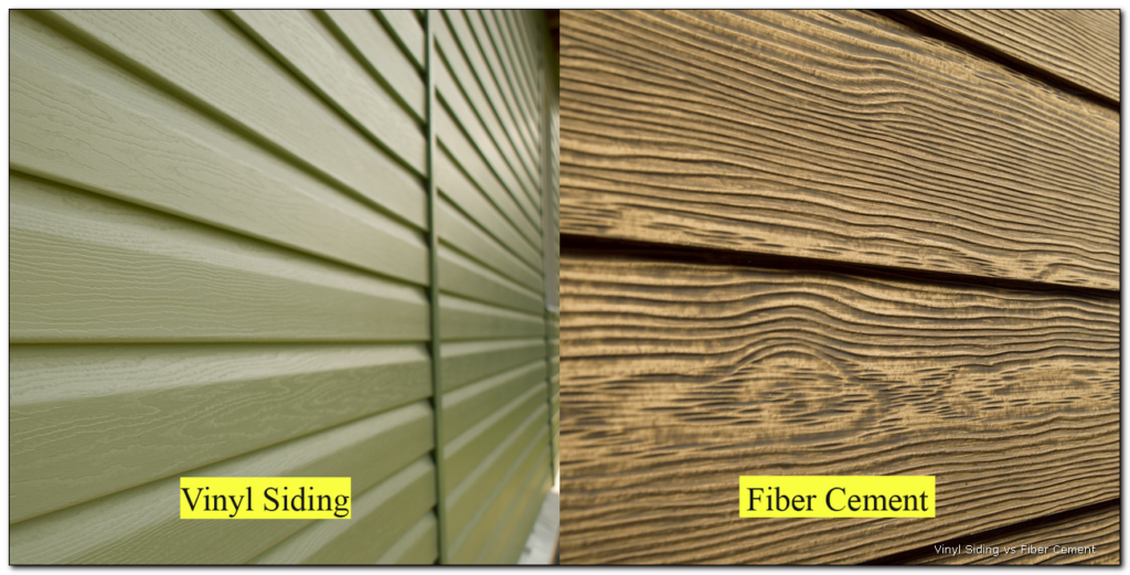 Fiber Cement vs. Vinyl Siding