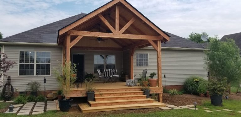 Outdoor Addition by L&L Contractors