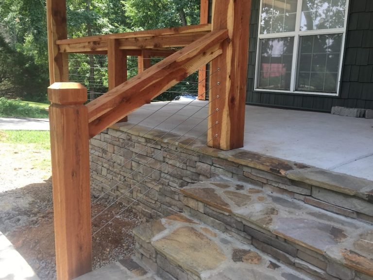 Staircase construction by L&L Contractors