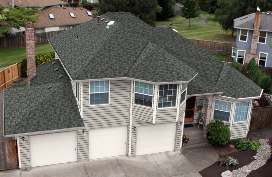 Asphalt shingles improves home look aesthetics