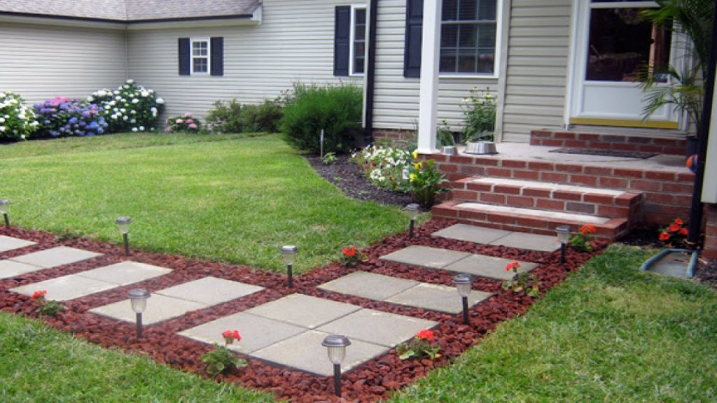 Inexpensive Front Yard Walkway Ideas