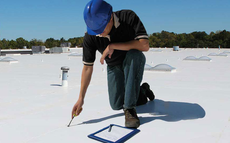 Roof Inspection Certificate Report